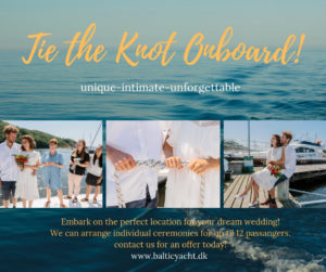 Tie the knot on board!